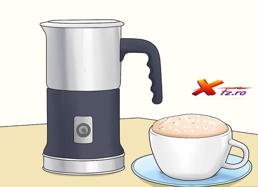 Recomandare espressor pentru spumarea laptelui